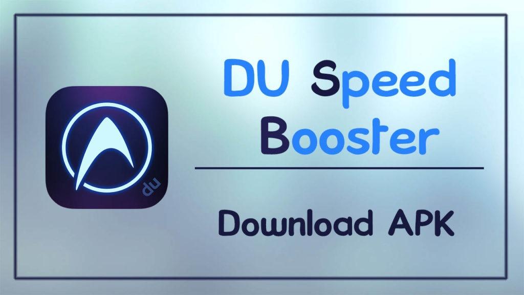 DU Speed Booster APK
