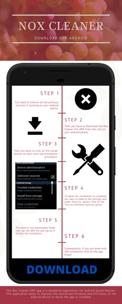 nox cleaner pro infographic