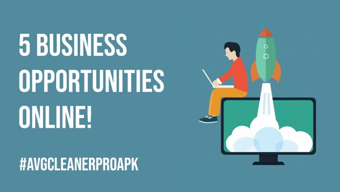 5 Business Opportunities Online