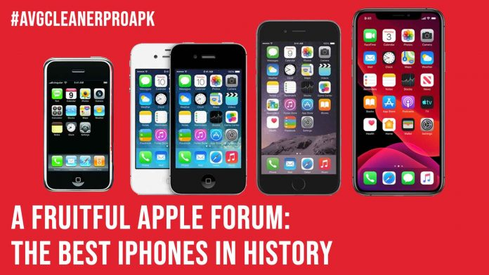 A Fruitful Apple Forum The Best iPhones In History